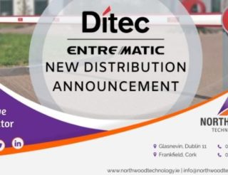 Northwood Technology have been appointed exclusive distributor for Ditec ENTREMATIC